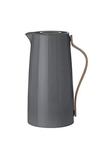 Stelton - Emma Kaffee Isolierkanne - grau - Kaffeekanne - HolmbäckNordentoft