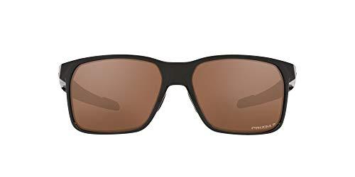 OO9460 Portal X Sunglasses, Polished Black/Prizm Tungsten Polarized, 59mm