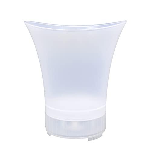 Cubo De Hielo Luminoso LED Con Altavoz De Bluetooth Inalámbrico, Portátil, Contenedor De Cubitos De Hielo Duradero Contra La Caída Para La Playa, Fiesta, Afuera