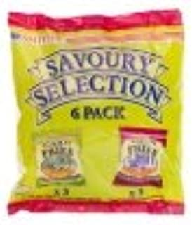 Smith's Savoury Selection Scampi Flavour Fries & Bacon Flavour Fries 6 Pack