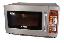 Gastronomie Mikrowelle aus Edelstahl, 34 Liter Volumen, 2100 Watt