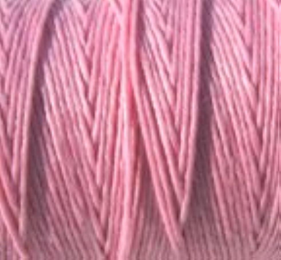 Waxed Irish Linen Crawford Cord 4 Ply 10 Yards LIGHT ROSE