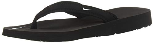 Nike Womens Celso Fabric Open Toe Beach ,Black/White,US11