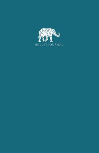 Bullet diario: A5Red Dot portátil, color turquesa