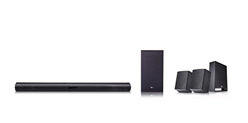 LG SJ4R 4.1 Soundbar (420W, kabelloser Subwoofer, Bluetooth) schwarz
