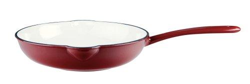Mario Batali 10-Inch Cast-Iron Saute Pan