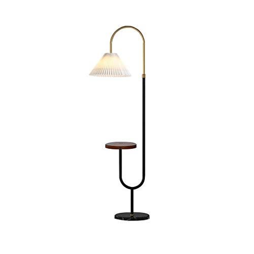 Tall Lamp Floor Lamp for Living Room, Classic Arc Hanging Lamp Shade Standing Lamp with USB Charging Port and Wireless Charging Stand Up Lamp