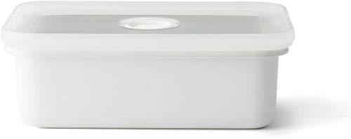 富士ホーロー 保存容器 琺瑯 バターケース ホワイト 200g N-200