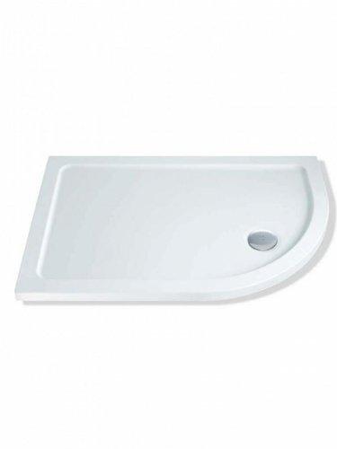 MX Elements Quad-Duschtasse für Rechtshänder, 1200 x 800 mm