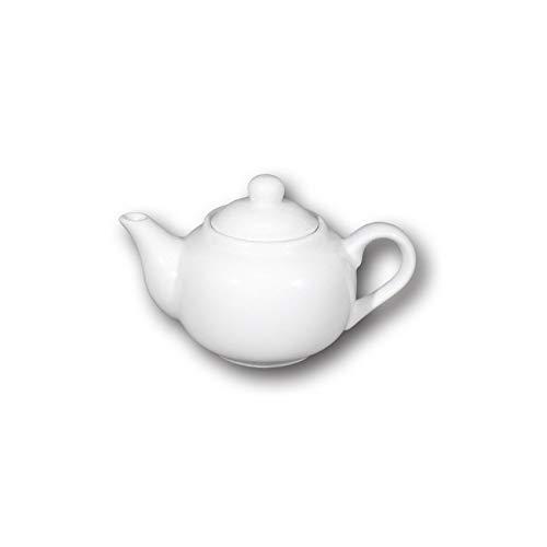 Tetera de porcelana blanca – Roma