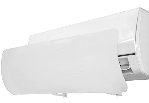 DOOGDOOG AIRE Acondicionado Deflecto,Deflector de AIRE Acondicionado,Deflexión de 180 grados White