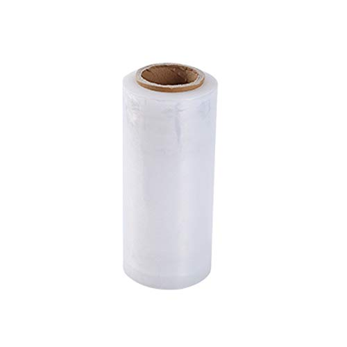 MHUI Película Extensible Transparente Industrial para Paletas, Película Adhesiva, Longitud De 300 M, Embalaje Autoadhesivo, Movimiento, Embalaje, Película Retráctil De Alta Resistencia,5cmX300m
