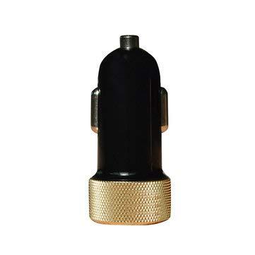 JenNiFer Quick Charge 2.0 Auto-Schnellladegerät 2.0 USB Intelligentes Turbo Bulle-Autoladegerät Für Smartphones - Schwarzes Gold