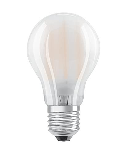 Osram LED Base Classic A Lampe, Sockel: E27, Warm White, 2700 K, 7 W, Ersatz für 60-W-Glühbirne, matt