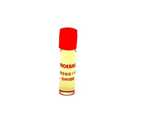Genuine Swiss Made Moebius 8000Reloj Alarma Reloj Natural Botella engrasador de Aceite Herramienta de reparación 1ml