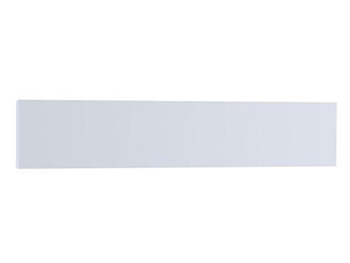 Infrarotheizung 630W, 150x32cm, keramische Oberfläche Hochglanz weiß, bedruckbar, Vitalheizung HVH630 deluxe