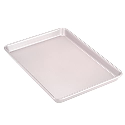 """CHEFMADE 13-Inch Rimmed Baking Pan13"""" x 9"""" (Champagne Gold)"""