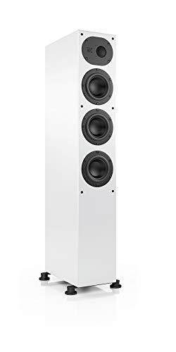 Nubert nuLine 244 Standlautsprecher | Lautsprecher für Stereo | Heimkino & HiFi Qualität auf hohem Niveau | Passive Standbox mit 2.5 Wege Technik Made in Germany | Kompakte Standbox Weiß | 1 Stück