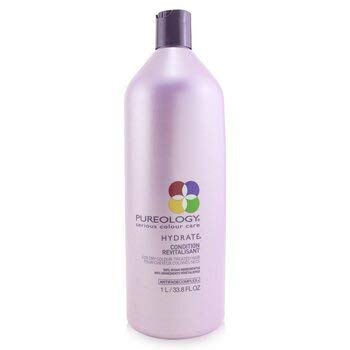 Pureology Hydrate Moisturizing Conditioner | For Medium to Thick Dry, Color Treated Hair | Sulfate-Free | Vegan | 33.8 oz