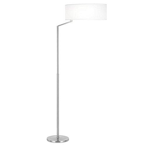 LEDS C4 – vloerlamp Salon Twist 1 x E27 150 W 1 x E27 30 W nikkel