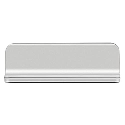 AJMINI Soporte portátil para ordenador portátil, soporte vertical ajustable para portátil, soporte de aluminio de escritorio para todas las computadoras portátiles