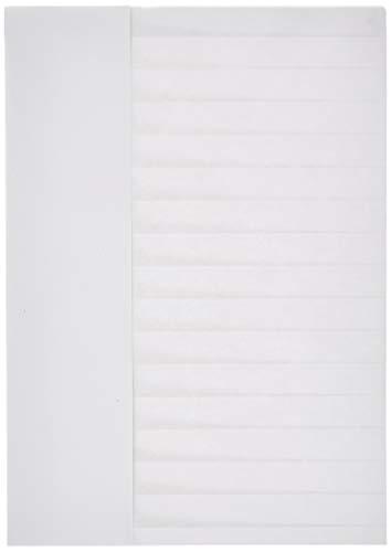 PAPSTAR 12208 Burgund - Gorros de Cocinero (23cm, tamaño Ajustable, Papel, 25 Unidades), Color Blanco