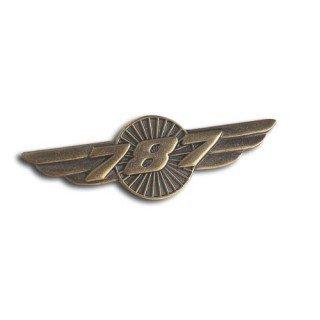 787 WINGS PIN