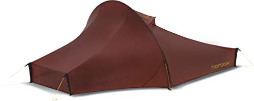 Nordisk Telemark 2 LW Tent Unisex Adult, unisex_adult, 151008, Red (Burnt Red), one size