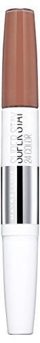 Maybelline New York Lippenstift, Super Stay 24H, Flüssig und langanhaltend, Nr. 611 Creme Caramel, 5g