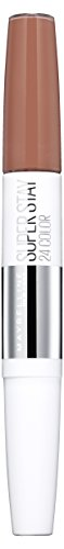 Maybelline New York Make-Up Lippenstift Superstay 24h Color Liquid Creme Caramel/glanzend bruin met 24 uur houvast, 1 x 5 g
