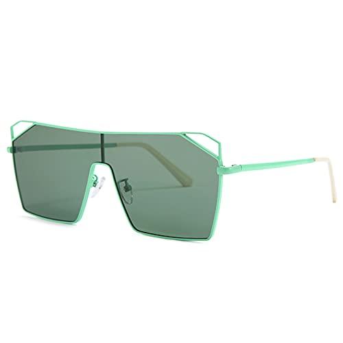 xzl Gafas de sol para mujer, de moda, de gran tamaño, retro, cuadradas, polarizadas para mujeres, 100% protección UV, para vacaciones al aire libre, B