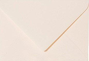 50 sobres, mini tarjetas de visita, color crema, 6 x 9 cm, 60 x 90 mm, técnica de cierre: adhesivo, gramaje, 120 g/m²