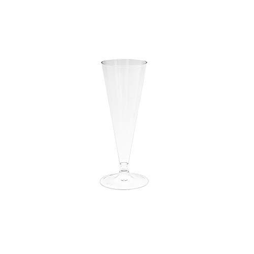 MAQA Plastic fluitglazen met champagne basispakket van 30 stuks 3381 1