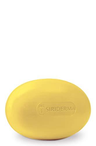SIRIDERMA care Basische Seife mit Nachtkerzenöl | 100 g | Vegane Reinigung bei empfindlicher, trockener und normaler Haut