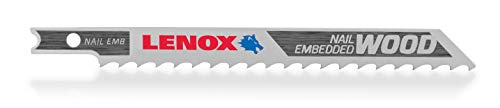 LENOX Tools 1991410 U-Shank General Purpose Jig Saw Blade, 4