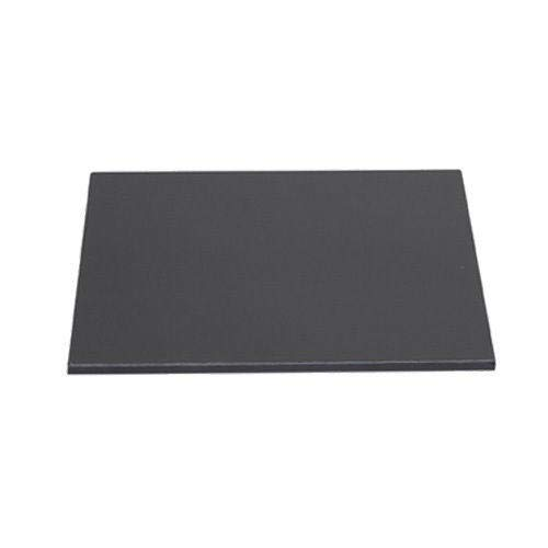 (Steel Pizza Plate) 1/2' Steel Pizza Plate, 1/2' x 13.2' x 13.5', Rounded Corners, Fits UUNI 3 Oven