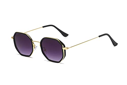 IRCATH Gafas de Sol cuadradas de Gran tamaño Mujeres Vintage Sunglass Fashion Big Frame Gafas de Sol UV400 Adecuado para Conducir Playa Trekking Party-Púrpura