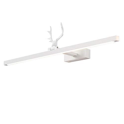 JIAYUAN LED Vanity verlichting, draaien 180 ° Moderne witte LED-badkamer-edel licht boven spiegel-wandlamp verstelbare wandlamp voor wc slaapkamer woonkamer verlichting 3000K, 4000K