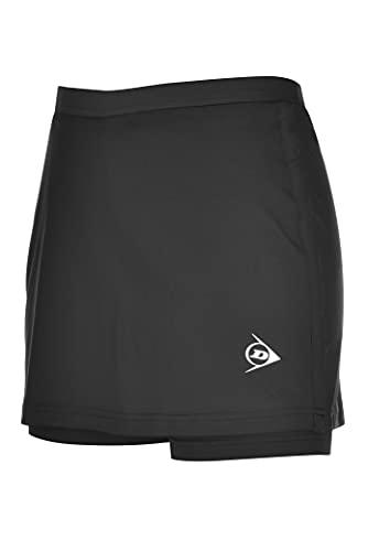 Dunlop Sports Clubline Ladies Skort Falda de Tenis, Negro,...
