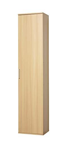 WILMES Ronny Mehrzweckschrank, Holzwerkstoff, Buche Dekor, 39x40x178 cm