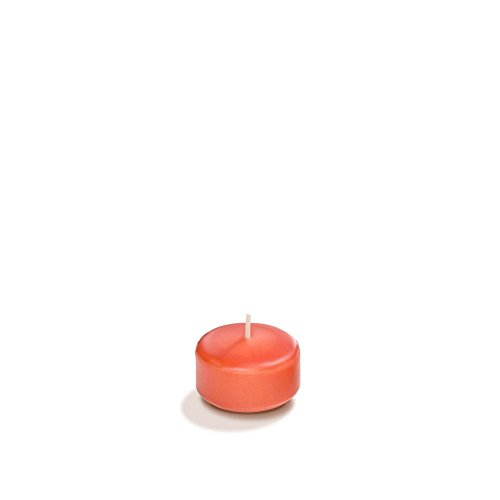 Yummi 1.75' Coral Floating Candles - 20 per Pack