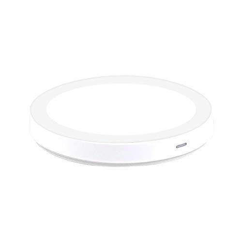 RJ Home 8 Tipos Qi Cargador Inalámbrico para iPhone 8/8 Plus/X Dock De Carga De Carga Inalámbrica para Samsung Note5 S6 S7 Teléfono Móvil Accesorios (Plug Type : C)