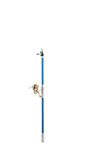 Fengyj Angelrute Teleskoprute, Fishing Rod, Carbon Fiber Angelruten Angeln Rute Pole Für Salzwasser Süßwasse| Kinder & Erwachsene | Boat, Surf, See, Daiwa, Dam, Ozean, Meer, Junior,4.5m