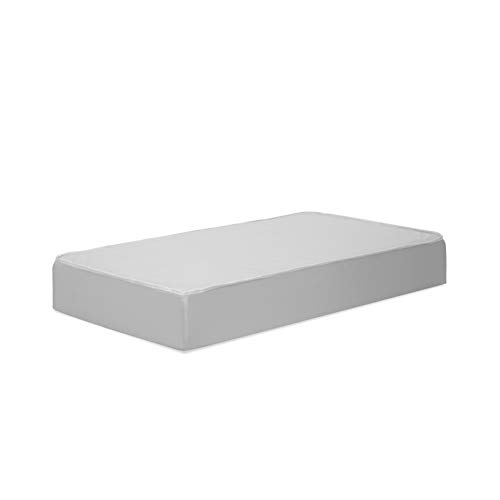 DaVinci Deluxe Coil Waterproof MINI Crib Mattress in White, Firm Support, Lightweight, 100% Non-Toxic, Greenguard Gold Certified