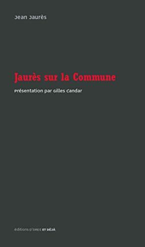 Jaurès sur la Commune