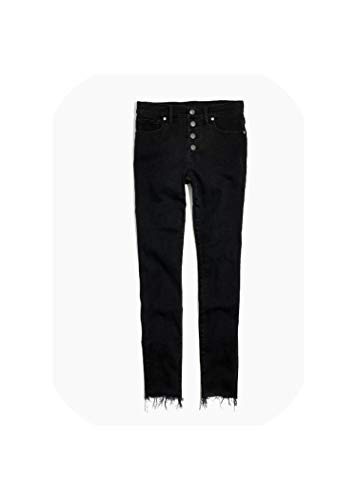 High Waist Ripped Skinny Pencil Jeans Woman Plus Size Gray Black Mom Stretch Women Jeans Pants Denim Jeans