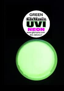 SIX Color UV Reactive Fluorescent Invisible Neutral Acrylic Paint Set- 1/2oz pots