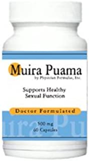 4 Bottles Muira Puama Extract Potency Wood Libido Supplement for Men and Women, 500 mg, 60 Capsules - Endorsed by Dr. Ray ...