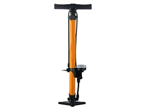 Pompa Bici Con Manometro Da Pavimento, Gonfiatore Per Pneumatici Biciclette Professionale, 160 Psi Valvola Presta e Schrader