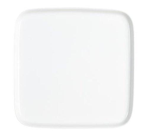 Kahla - Porcelaine pour les Sens 207744A90020C Abra Cadabra Plateau Carré Blanc 24 x 24 cm